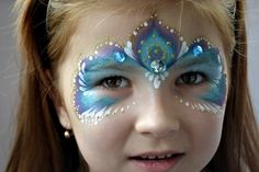 fasching kostüme kinder blaue maske