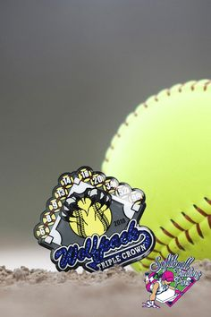 If you need softball trading pins in a hurry we recommend our offset printed pins, like this one created for Triple Crown Wolfpack Softball 🥎. Fill out a quote form on our website and our customer care and design teams will take it from there!