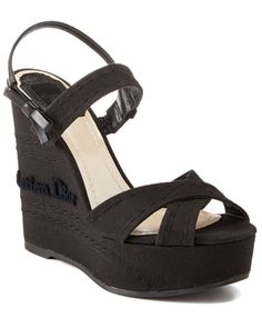 Spotted this Christian Dior Flower Wedge on Rue La La. Shop (quickly! Boutique, Wedge Sandals, Christian Dior, Me Too Shoes, Product Launch, Wedges, Platform Wedge, Flower, How To Wear