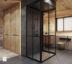Aranżacje wnętrz - Łazienka: Bielsko - Biała - Duża łazienka, styl nowoczesny - razoo-architekci. Przeglądaj, dodawaj i zapisuj najlepsze zdjęcia, pomysły i inspiracje designerskie. W bazie mamy już prawie milion fotografii!