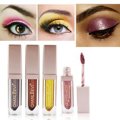 Energetic Handaiyan Face Body Mermaid Glitter Gel Eye Shadow Shiny Highlight Eyeshadow Shimmer Gel Musical Festival Stage Makeup Eye Shadow Beauty & Health