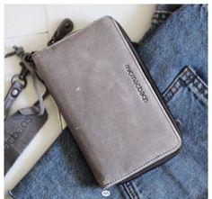 a3fdf59d73c Mooie simpele portemonnee van Micmacbags. #leer #basic #wallet #micmacbags