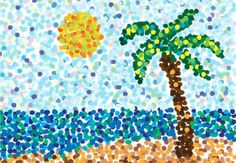 Painting Dots with Seurat Orlando, Florida  #Kids #Events
