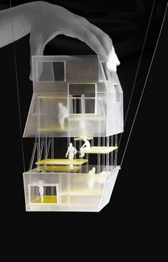 House of Writing: Suspended Cabins for Writers   FRPO - Rodriguez & Oriol Location: Montricher Sur Morges, Switzerland