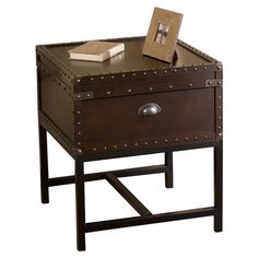 Found it at Wayfair - Southport End Table in Espresso