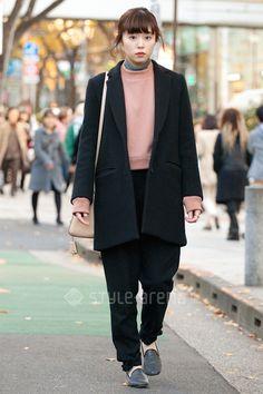 なつきさん   Ray BEAMS ACNE STUDIOS Another Edition HYKE BALENCIAGA COACH   2015年12月第2週   表参道   東京ストリートスタイル   東京のストリートファッション最新情報   スタイルアリーナ