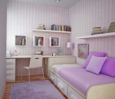 quarto feminino pequeno
