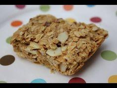 Peanut Butter Granola Bar Recipe - YouTube