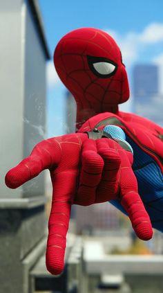 Image Spiderman, Spiderman Pictures, Spiderman Art, Amazing Spiderman, Marvel Films, Marvel Art, Marvel Heroes, Marvel Characters, Iron Man Avengers