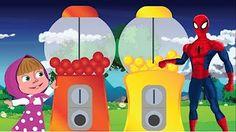 У Пеппы День Рождения, Свинка Джокер украл конфеты, Человек Паук - Мультфильм Свинка Пеппа - YouTube