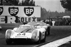 1969 рік, Porsche 908 #64, Ханс Херманн, Жерар Ларусс