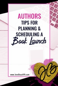 For those trying to figure out how to plan a book launch with a detailed look at planning and scheduling your new releases launch. Fiction Writing, Writing A Book, Writing Tips, Writing Process, Writing Help, Print On Demand, Book Launch, Writing Resources, Book Signing