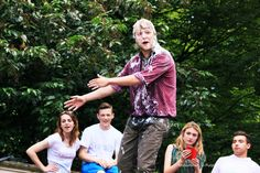 In typical tradition with our productions of Midsummer, we took the performance to Stratford Upon Avon as part of their yearly outdoor festival