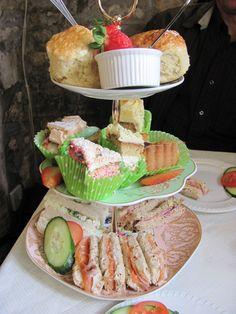Delicacies from The Bridge Tea Room, Bradford on Avon, UK
