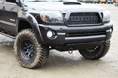 Custom Toyota Tacoma Grill and Skid Plate by Bullet Proof Fabricating. Shop online: http://www.bpfabricating.com
