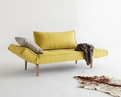 Zeal Daybed in Mustard Flower by nnovation