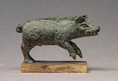 Boar Figurine  Celtic (France), 1st-2nd century AD  Musée Condé