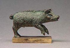 Boar Figurine  Celtic (France), 1st-2nd century AD  Musée Condé
