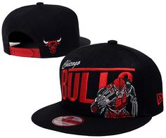 NBA Chicago Bulls Snapback Hats Caps Newera Black 2208|only US$8.90