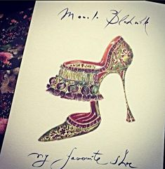 """My Favorite Shoe"" Illustration 