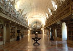 Mafra National Palace Library, Portugal