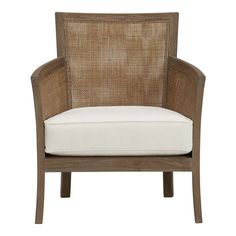 Also think two of these chairs (Blake Lounge Chairs) from Crate & Barrel would rock our white room