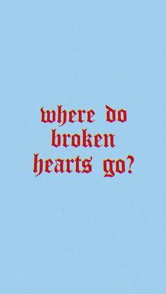 where do broken hearts go // one direction - Random Stuff - Broken One Direction Background, One Direction Lyrics, One Direction Wallpaper, Mood Wallpaper, Aesthetic Iphone Wallpaper, Wallpaper Quotes, Aesthetic Wallpapers, Quote Aesthetic, Blue Aesthetic