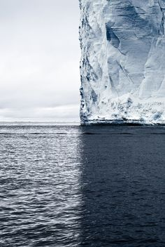 imalikshake:  Mercator's Projection, Antarctica, 2007 by David Burdeny