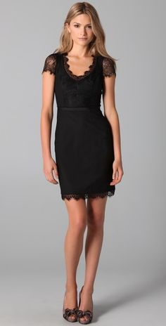 lace combo dress, cute...