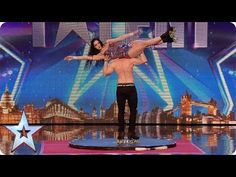 Roller skaters Billy and Emily are wheelie good! | Audition Week 1 | Bri...