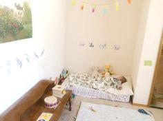 Montessori toddler room. Nap time <3