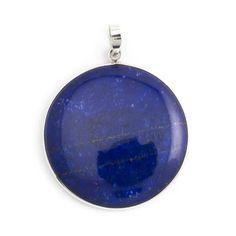 Koop deze blauwe hanger met lapis lazuli edelsteen bij Aurora Patina, de leukste sieraden webshop van Nederland!