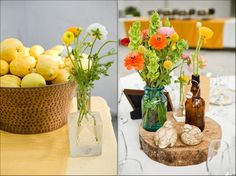 Wedding Centerpieces, Wildflowers, Fruit, Vintage Vases, and more! | WeddingWire: The Blog