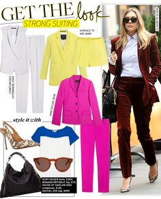 Get The Look: Strong Suiting - Celebrity Style and Fashion from WhoWhatWear