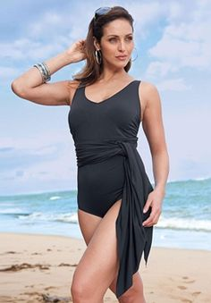 Converteble 3-way Swimsuit Plus Size Fashion @ Jessica London