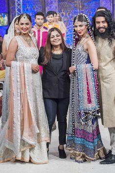 Bridal Zainab Chottani 2014 Latest PFW Collection