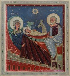 Nativity of Christ by Olga Shalamova