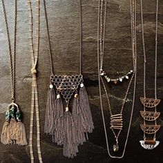 New necklaces to satisfy your style needs!