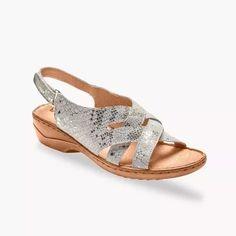 Zapletané sandále z kože, zlaté   blancheporte.sk #blancheporte #blancheporteSK #blancheporte_sk  #shoes #topanky #kozenaobuv #koze Shoes, Fashion, Braided Sandals, Barefoot, Braid, Heels, Shoe, Moda, Zapatos