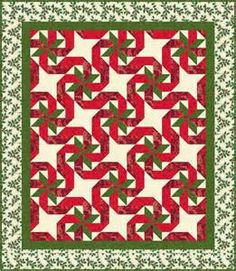 quilt this quilt looks great in christmas or other colors
