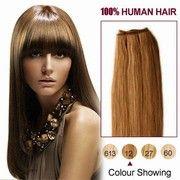 Light Golden Brown Straight 10-30 inch Virgin Brazilian Remy Hair Weave