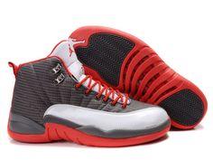 Desirable New Air Jordan 12 Retro In White Red Gray Mens Shoes Inexpensive  | Air Jordan