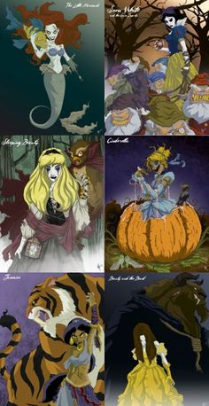 I'm going to be Zombie Sleeping Beauty for Halloween. Swear to guts.I'm going to be Zombie Sleeping Beauty for Halloween. Swear to guts. Disney Pin Up, Disney Au, Disney Fan Art, Disney And Dreamworks, Disney Pixar, Zombie Disney, Creepy Disney, Disney Horror, Disney Crossovers