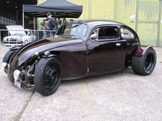 Modified Beetle hot rod at VolkStyle Base 2013 Photo 8327