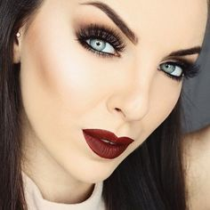 """This afternoon's vivacious #MakeupInspiration was done by @monapetre using our @kathleenlights collab Long Lasting Liquid Lipstick in """"Havana Nights""""! Use the code """"MONAPETRE"""" to get 30% off sitewide at ❤️ https://www.ofracosmetics.com/collections/lips/products/long-lasting-liquid-lipstick?variant=11525913222"""