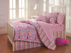 Freckles Hawaiian Surf Pink 7 piece  Bed In a Bag