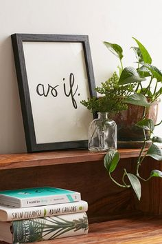 Pin for Later: 36 Dorm-Room Essentials $50 and Under  As If Art Print ($19)
