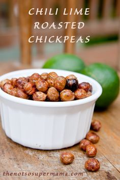 chili lime roasted chickpeas more lime chickpeas chickpea recipes ...
