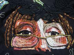 Autoportrait - Journal Textile - Nadine Levé