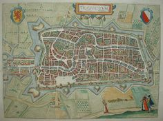 Utrecht; Lodovico Guicciardini - Trajectum - 1613